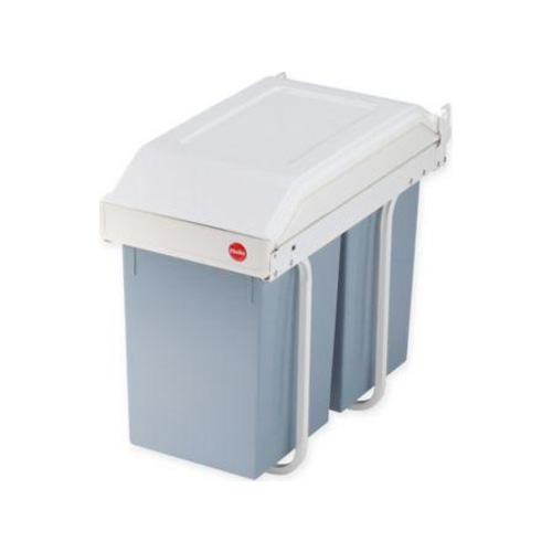 hailo-multi-box-recycling-bin-gray-white-set-of-2